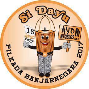 Si Dayu - Maskot Pilkada Banjarnegara 2017