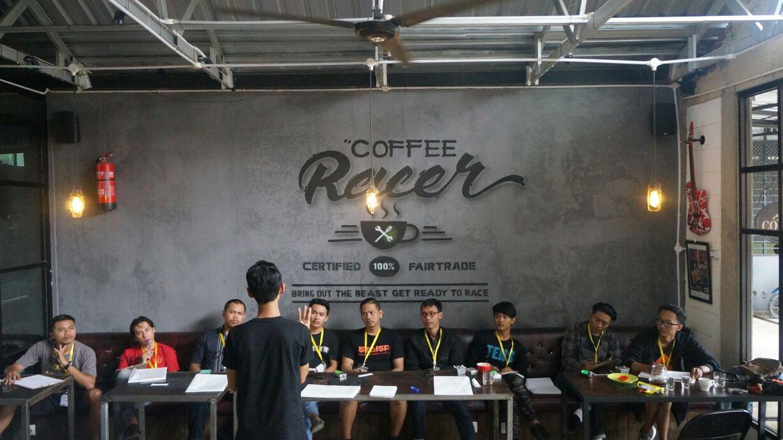 Kelas Basic Latte Art Banjarnegara #1 (foto by IG: @astuko.f.t)